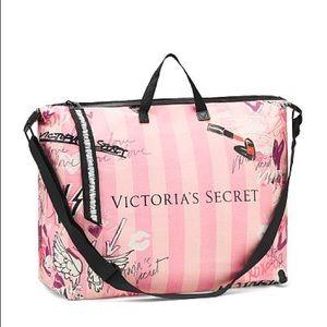 Victoria's Secret Pink Graffiti Weekender Tote